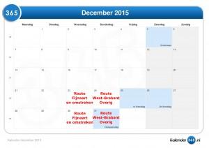 Kalender december 2015